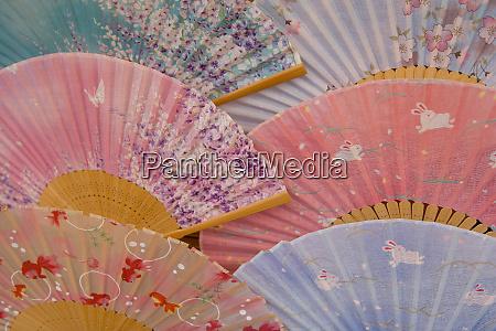 hand fans japan