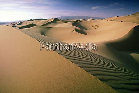 asia mongolia gobi desert khongoryn sand