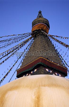 asia nepal kathmandu bodnath stupa