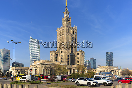 palace of culture and science the