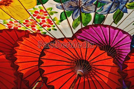 hand made decorative umbrellas bo sang