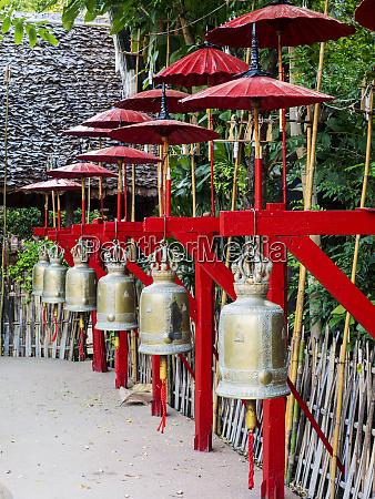 southeast asia thailand chiang mai bells