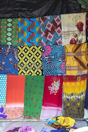 africa madagascar toamasina marketplace colorful goods