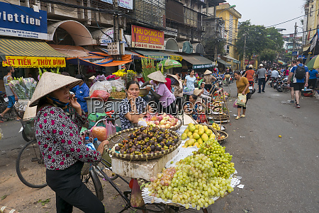 old quarter hanoi vietnam asia