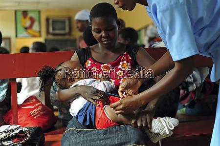 malawi northern region rumphi first immunized
