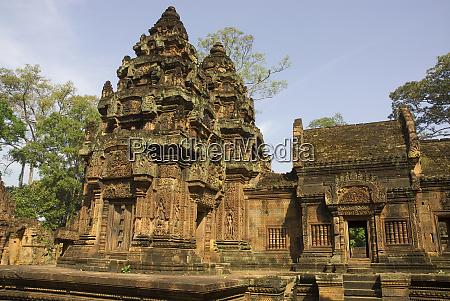 cambodia siem reap bantay srei temple