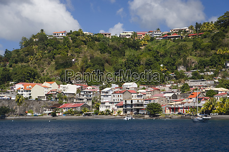 martinique french antilles west indies town