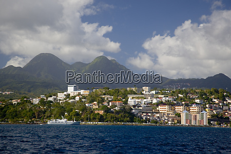 martinique french antilles west indies city