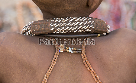 africa namibia opuwo detail of himba