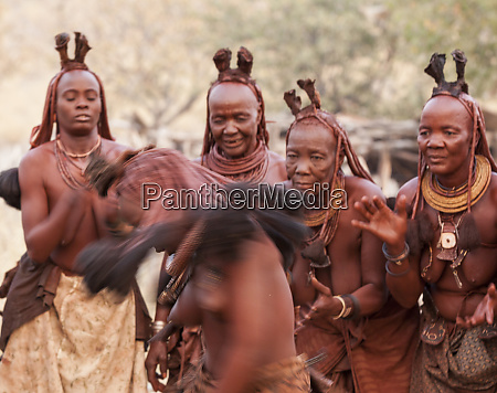 africa namibia opuwo himba women watch