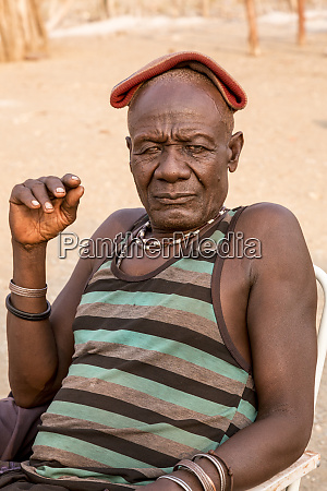 africa namibia opuwo portrait of a