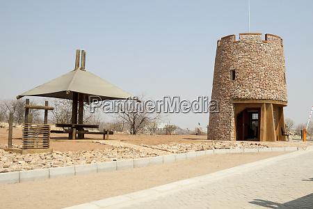 africa namibia etosha national park picnic
