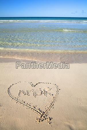 vieques puerto rico a heart