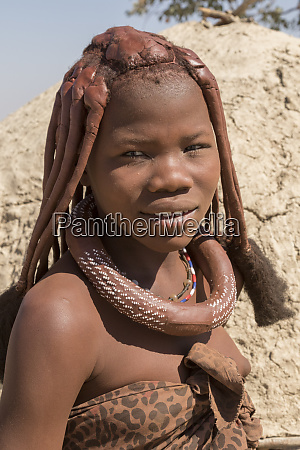 africa namibia opuwo portrait of young