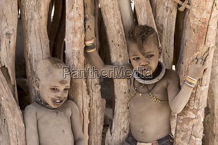 africa namibia opuwo two dusty himba