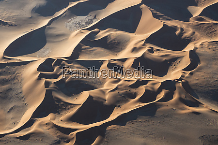 aerial, view, over, sossusvlei, sand, dunes - 27745685