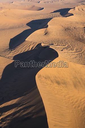 aerial, view, over, sossusvlei, sand, dunes - 27745691