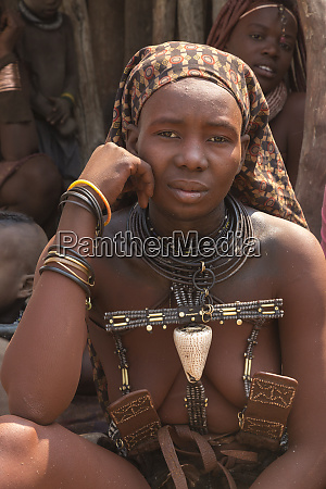 africa, , namibia., portrait, of, a, young - 27745634