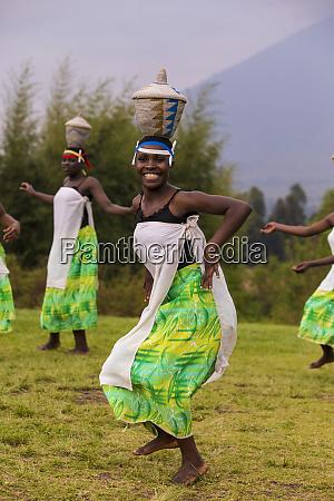 africa rwanda traditional intore dancers near
