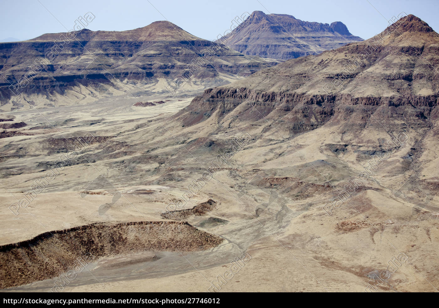 africa, , namibia, , damaraland., aerial, view, of - 27746012