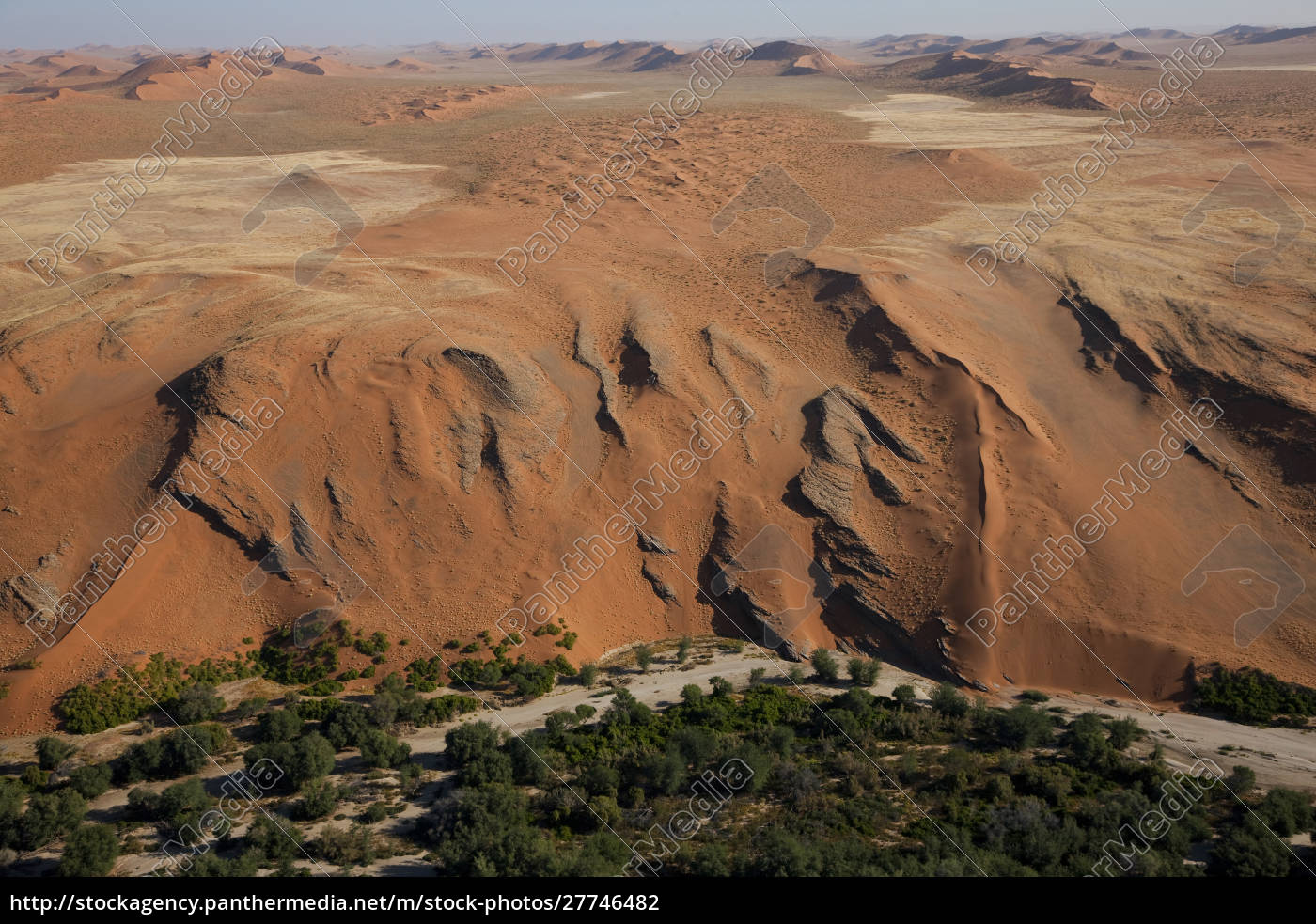 desert, meets, fertile, land, , aerial, view, - 27746482