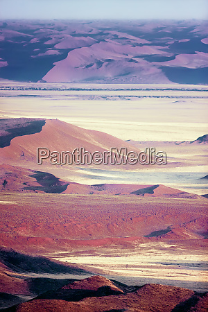 namibian, desert., aerial, view, of, sand - 27746316