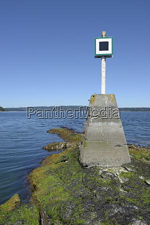canada british columbia island navigational marker