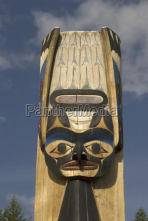 thunderbird project featuring tseshaht totem poles