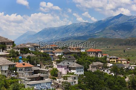 gjirokaster in the mountain unesco world