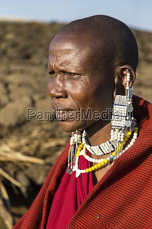 africa tanzania masai at ngorongoro conservation