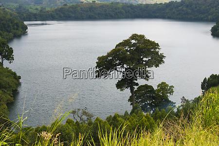 lake george printed on uganda 20