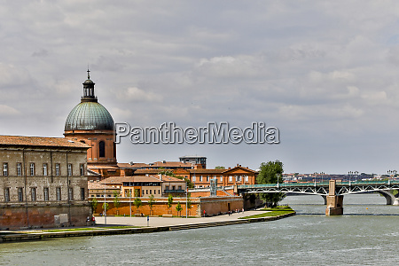 france toulouse old cathedral and the