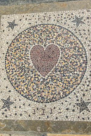 europe france saint maurice mosaic tile