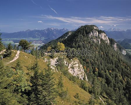 germany bavaria falkenstein hikers enjoy the