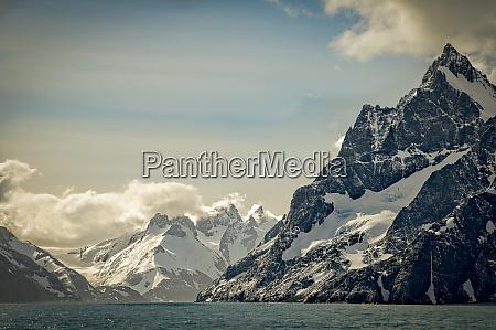 antarctica south georgia fjord