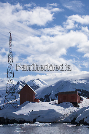 antarctica paradise bay abandoned research station