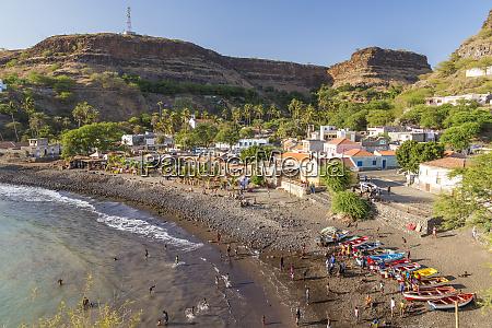 bay beach and cidade velha village
