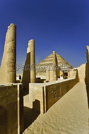 step pyramid at saqqara one of