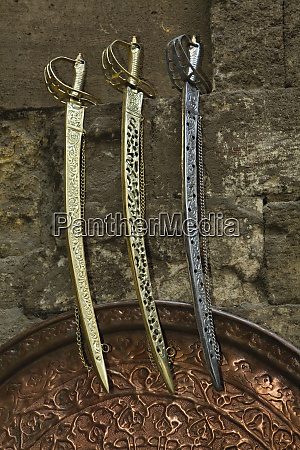swords for sale khan el khalili
