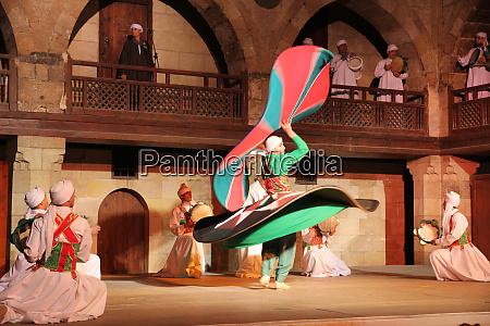 africa egypt cairo the tanoura dancers