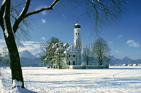 germany bavaria st colomans church