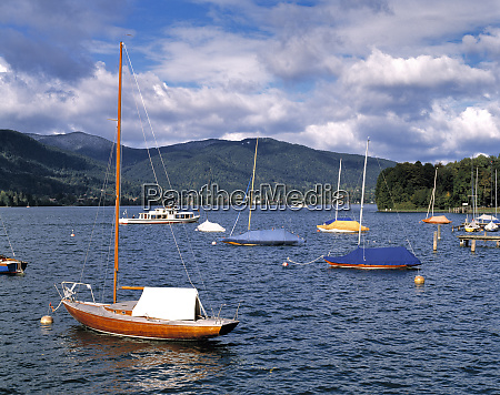 germany bavaria tegernsee small ferries connect