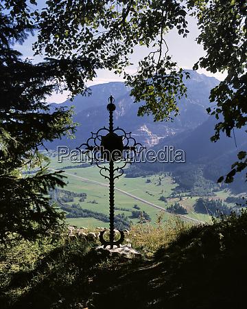 germany bavaria a wrought iron cross