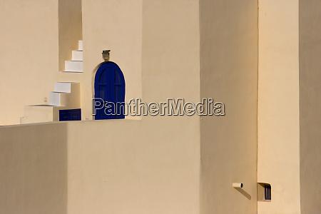 greece santorini thira oia dark blue