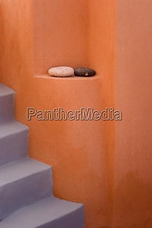 greece santorini thira oia grey stairs