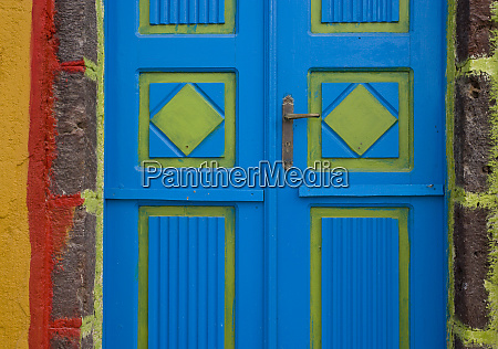 greece santorini thira oia blue and
