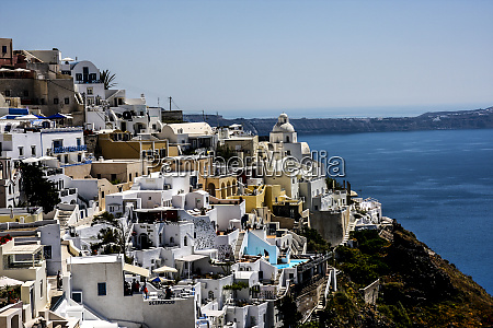 thira santorini greece thira and its