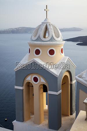 greece santorini bell tower