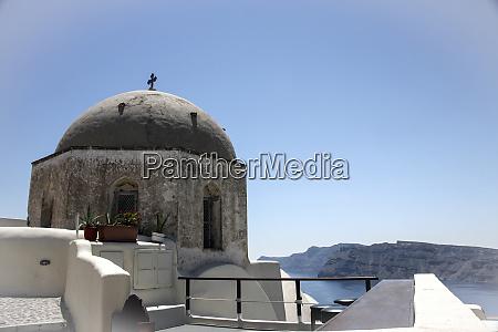 oia greece grey dome greek christian