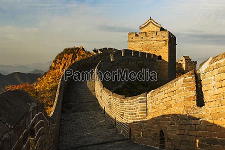 great wall of china and jinshanling